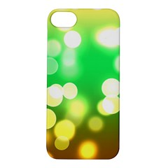 Soft Lights Bokeh 3 Apple iPhone 5S/ SE Hardshell Case