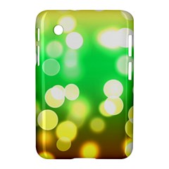 Soft Lights Bokeh 3 Samsung Galaxy Tab 2 (7 ) P3100 Hardshell Case