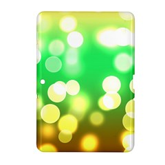 Soft Lights Bokeh 3 Samsung Galaxy Tab 2 (10.1 ) P5100 Hardshell Case