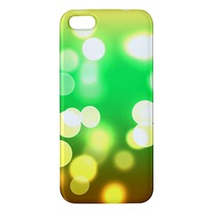 Soft Lights Bokeh 3 iPhone 5S/ SE Premium Hardshell Case