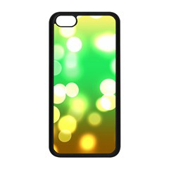 Soft Lights Bokeh 3 Apple iPhone 5C Seamless Case (Black)