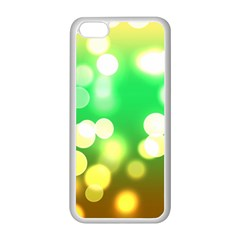 Soft Lights Bokeh 3 Apple iPhone 5C Seamless Case (White)