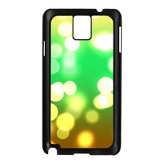 Soft Lights Bokeh 3 Samsung Galaxy Note 3 N9005 Case (Black)