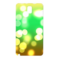 Soft Lights Bokeh 3 Samsung Galaxy Note 3 N9005 Hardshell Back Case