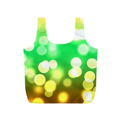Soft Lights Bokeh 3 Full Print Recycle Bags (S)