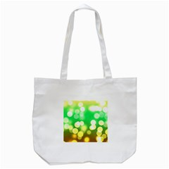 Soft Lights Bokeh 3 Tote Bag (White)