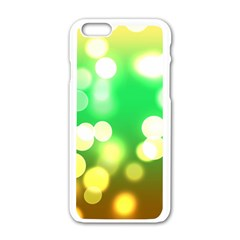 Soft Lights Bokeh 3 Apple iPhone 6/6S White Enamel Case