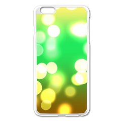 Soft Lights Bokeh 3 Apple iPhone 6 Plus/6S Plus Enamel White Case