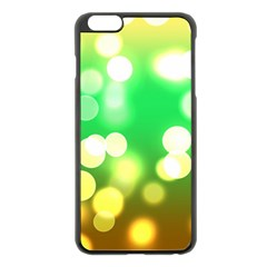 Soft Lights Bokeh 3 Apple iPhone 6 Plus/6S Plus Black Enamel Case
