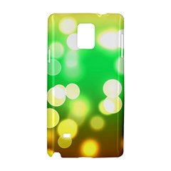 Soft Lights Bokeh 3 Samsung Galaxy Note 4 Hardshell Case