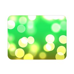 Soft Lights Bokeh 3 Double Sided Flano Blanket (Mini)