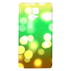 Soft Lights Bokeh 3 Galaxy Note 4 Back Case