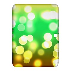 Soft Lights Bokeh 3 Samsung Galaxy Tab 4 (10.1 ) Hardshell Case