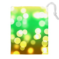 Soft Lights Bokeh 3 Drawstring Pouches (XXL)