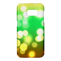 Soft Lights Bokeh 3 Samsung Galaxy S7 Hardshell Case