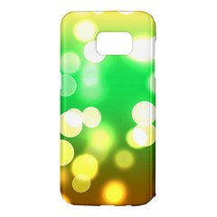 Soft Lights Bokeh 3 Samsung Galaxy S7 Edge Hardshell Case