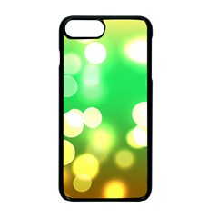 Soft Lights Bokeh 3 Apple iPhone 7 Plus Seamless Case (Black)