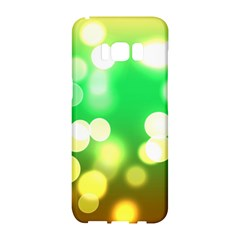 Soft Lights Bokeh 3 Samsung Galaxy S8 Hardshell Case