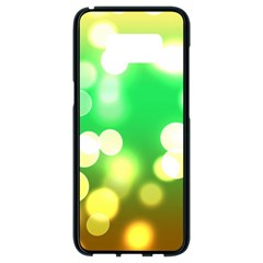 Soft Lights Bokeh 3 Samsung Galaxy S8 Black Seamless Case