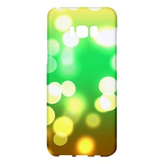 Soft Lights Bokeh 3 Samsung Galaxy S8 Plus Hardshell Case