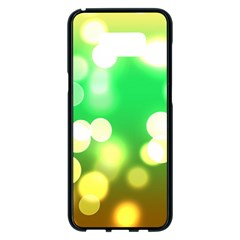 Soft Lights Bokeh 3 Samsung Galaxy S8 Plus Black Seamless Case