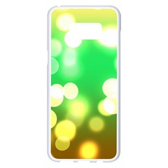 Soft Lights Bokeh 3 Samsung Galaxy S8 Plus White Seamless Case
