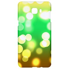 Soft Lights Bokeh 3 Samsung C9 Pro Hardshell Case