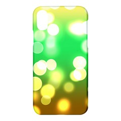 Soft Lights Bokeh 3 Apple iPhone X Hardshell Case