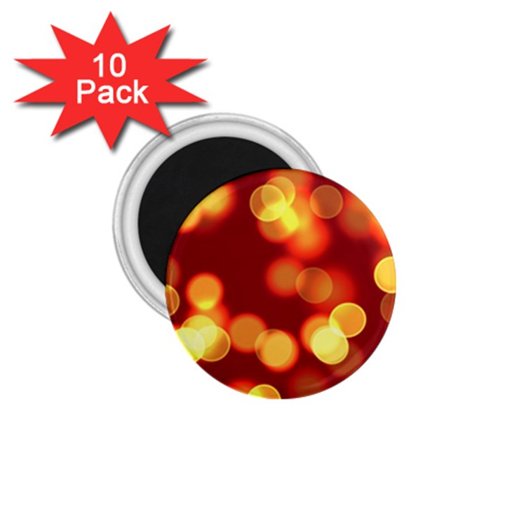 Soft Lights Bokeh 4 1.75  Magnets (10 pack)