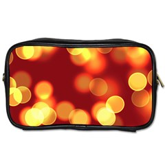 Soft Lights Bokeh 4 Toiletries Bags 2 Side
