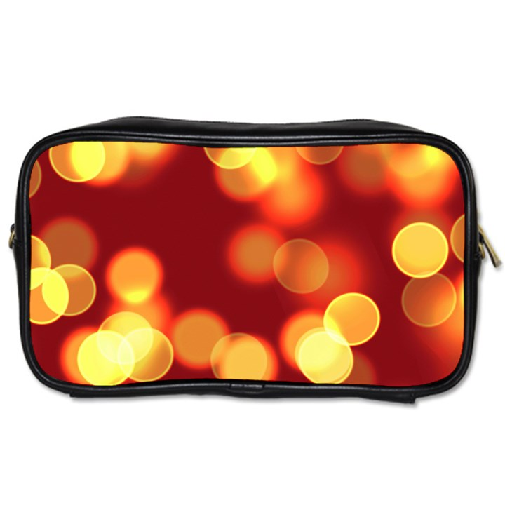 Soft Lights Bokeh 4 Toiletries Bags 2-Side