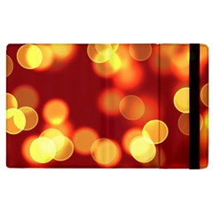 Soft Lights Bokeh 4 Apple Ipad 3/4 Flip Case by MoreColorsinLife