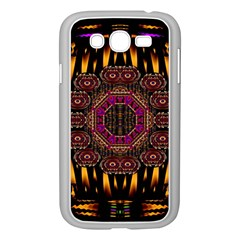 A Flaming Star Is Born On The  Metal Sky Samsung Galaxy Grand Duos I9082 Case (white) by pepitasart
