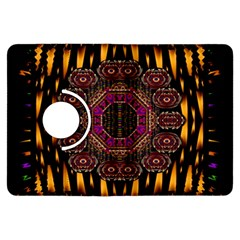 A Flaming Star Is Born On The  Metal Sky Kindle Fire Hdx Flip 360 Case by pepitasart