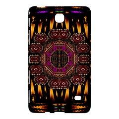 A Flaming Star Is Born On The  Metal Sky Samsung Galaxy Tab 4 (8 ) Hardshell Case  by pepitasart