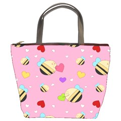 Bee Mine Valentine Bucket Bags by allthingseveryday