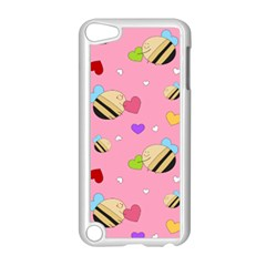 Bee Mine Valentine Apple Ipod Touch 5 Case (white) by allthingseveryday