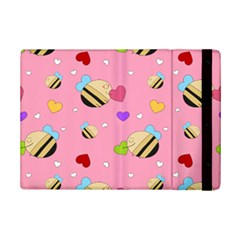 Bee Mine Valentine Ipad Mini 2 Flip Cases by allthingseveryday