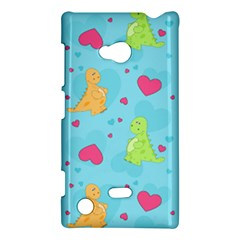 Dinosaur Love Pattern Nokia Lumia 720 by allthingseveryday