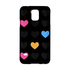 Emo Heart Pattern Samsung Galaxy S5 Hardshell Case  by allthingseveryday