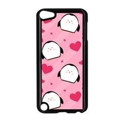 Penguin Love Pattern Apple Ipod Touch 5 Case (black) by allthingseveryday