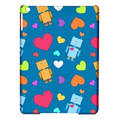 Robot Love Pattern Ipad Air Hardshell Cases by allthingseveryday