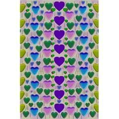 Love In Eternity Is Sweet As Candy Pop Art 5 5  X 8 5  Notebooks by pepitasart