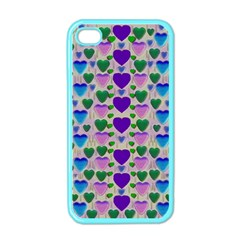 Love In Eternity Is Sweet As Candy Pop Art Apple Iphone 4 Case (color) by pepitasart