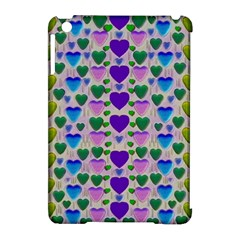 Love In Eternity Is Sweet As Candy Pop Art Apple Ipad Mini Hardshell Case (compatible With Smart Cover) by pepitasart