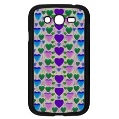 Love In Eternity Is Sweet As Candy Pop Art Samsung Galaxy Grand Duos I9082 Case (black) by pepitasart