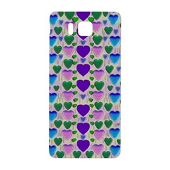 Love In Eternity Is Sweet As Candy Pop Art Samsung Galaxy Alpha Hardshell Back Case by pepitasart
