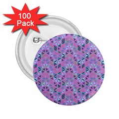 Sacred Geometry Pattern 2 2 25  Buttons (100 Pack)  by Cveti