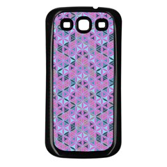 Sacred Geometry Pattern 2 Samsung Galaxy S3 Back Case (black) by Cveti