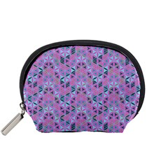 Sacred Geometry Pattern 2 Accessory Pouches (small)  by Cveti